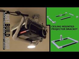 Ceiling Mounted Projectors by Diy Ceiling Mounted Projector Bracket Made From Pvc