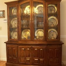 ethan allen china cabinet ethan allen classic manor china cabinet ebth