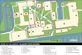 Virginia Tech Campus Map by View Map And Directions Mcadory High