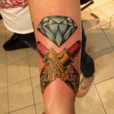 dimonds tattoo 45 luxury diamond tattoo designs and meaning