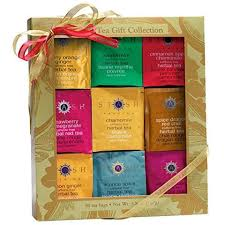 gold leaf herbal teas gift box stash tea