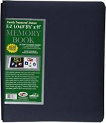 pioneer ez load memory book pioneer family treasures deluxe e z load 8 5 x 11