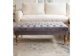 Grey Leather Tufted Sofa Sofa Round Cocktail Ottoman Moroccan Ottoman Small Round Ottoman