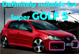 Car Decoration Accessories Car Decoration Accessories For Vw Golf 5 Gti Drl Daytime Running