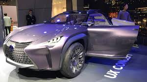 lexus purple gallery lexus ux concept in paris autoweek