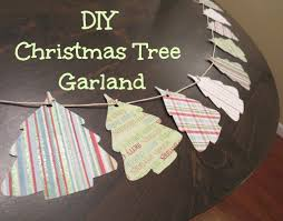 easy diy christmas tree paper garland click for a full tutorial
