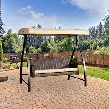 Swings For Patios With Canopy Replacement Canopy For Fairview Swing Riplock 500 Garden Winds