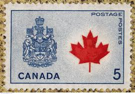 5 canada coat of arms 1966 national emblem canada stamp 3853