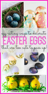 Easter Egg Decorating Ideas Bee by Egg Citing Ways To Decorate Easter Eggs Sugar Bee Crafts