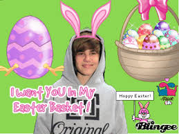 justin bieber easter happy easter to justin bieber picture 109669609 blingee
