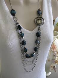 chain beaded necklace images 44 chain and bead jewelry black beads chain latest jewelry jpg