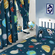 Single Duvet Covers And Matching Curtains Solar System Space Planets Single Double Junior Duvet Covers