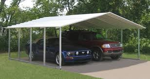 10x20 Carport Outdoor Metal Shed Kits Portable Garage Lowes Cheap Sheds For