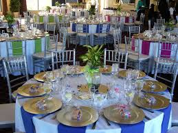 Table Decorations Possibly Neutral Tables Beige Tan With Alternating Fall Colored