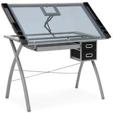 Artist Drafting Table Desk Table Artist Drafting Drawing Studio Glass Craft Station