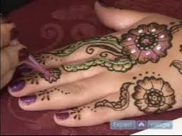 how to do henna tattoos how to add gilding u0026 crystals to henna