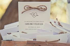creating a wedding program kellen s outdoor woodsy wedding invitations and decor