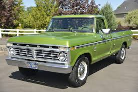 pictures of ford f250 no reserve 1975 ford f 250 cer special for sale on bat