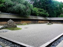 Ryoanji Rock Garden Rock Garden Ryoanji Temple Kyoto Ryoanji Kyoto And Temple