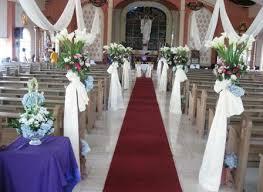 wedding decorations church the wedding specialiststhe wedding