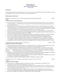 programmer contract template with marketing analyst resume sle 28