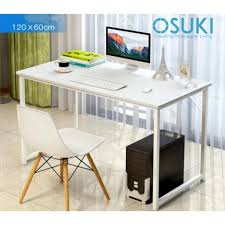 high quality office table osuki japan high quality modern office table 120 x 60cm white