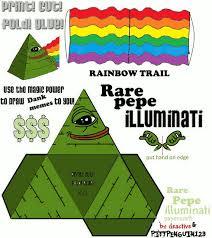 Illuminati Memes - papercraft rare pepe illuminati papercraft dank memes