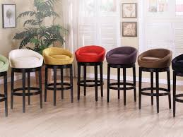 kitchen chairs modern colorful counter height bar stool with