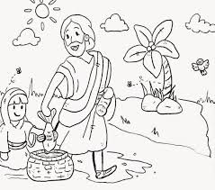 sunday coloring pages for preschoolers coloring page