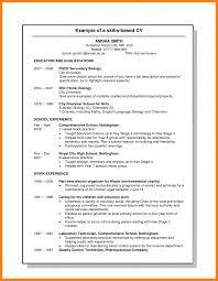 Skills Based Resume Samples by 7 Skills Based Cv Template Uk Science Resume