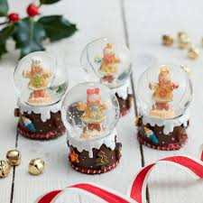 Personalised Snow Globes Tree Decorations 100 Personalised Snow Globe Christmas Tree Decoration The