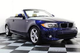 used bmw 1 series convertible 2013 used bmw 1 series certified 128i convertible premium