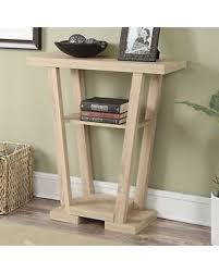convenience concepts console table on sale now 18 off convenience concepts newport v shaped console