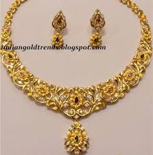 26 best gold necklaces images on jewellery designs