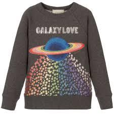 galaxy sweater grey galaxy sweatshirt childrensalon