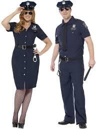 female cop halloween costume mens ladies police cop costume plus size policewoman policeman