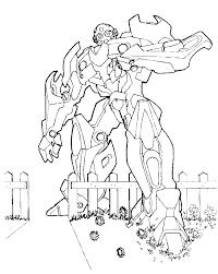 transformers seeking large enemy coloring transformer