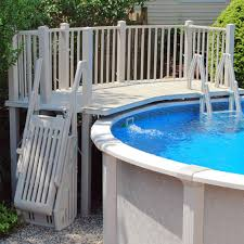 above ground pool steps and ladders pool accessories in the