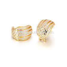 design of earrings gold wholesale gold earrings 2016 new design fashion new design stud