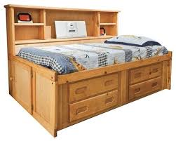 Twin Captains Bed With Drawers Harley U0027s Big Bookcase Captain U0027s Bed Transitional Kids Beds