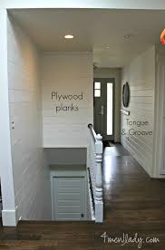 Tongue And Groove Shiplap Plank Wall Reveal