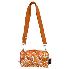 bloom wallet women s tennessee volunteers bloom crossbody wallet tennessee
