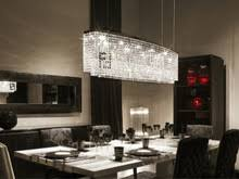 Crystal Light Fixtures Dining Room - online get cheap crystal linear chandelier aliexpress com