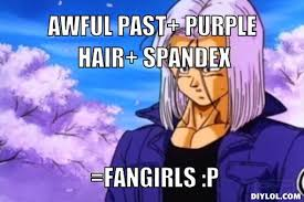 Anime Meme Generator - image marron meme generator awful past purple hair spandex