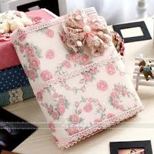 handmade wedding albums fabric cover 7inch size handmade diy wedding new born baby