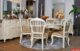 White French Provincial Dining Room Set Dining Room Chairs French - French country dining room chairs