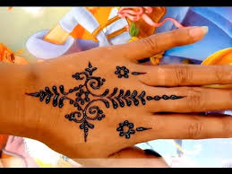 ᴴᴰ simple henna tattoo hand youtube