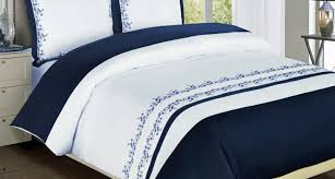 bedding set amazing blue and white striped bedding amazing navy