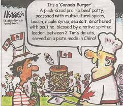 Canada Day Meme - saw this in the morning paper in honour of canada day meme guy