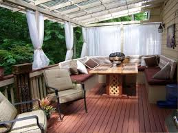 deck decorating ideas privacy small outdoor deck with garden best